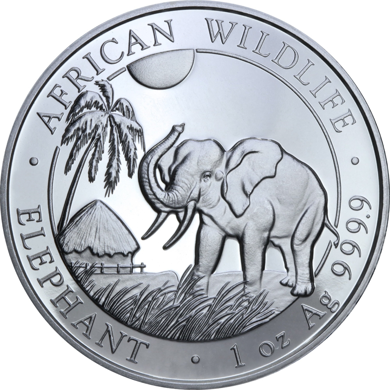 Серебряная монета 1oz Тор 1 доллар 2018 Тувалу