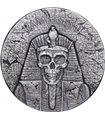 Срібна монета 2oz Рамзес II Потойбічне Життя 1000 франків КФА 2017 Чад