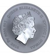 Срібна монета 1oz Дедпул 1 долар 2018 Тувалу