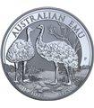 Серебряная монета 1oz Эму 1 доллар 2019 Австралия