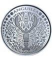 Срібна монета 1oz Ангілья 2 долара 2018 Східні Кариби