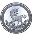 Серебряная монета 1oz Единорог 2019 Китай (25th Anniversary Restrike)