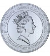 Срібна монета 1oz Гінея 1 фунт стерлінгів Остров Святої Єлени 2019