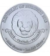 Срібна монета Зубр 10 гривень 2003 Україна