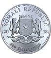 Серебряная монета Праздник Рождества Христова 10 гривен 2002 Украина