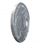 Срібна монета Свято Різдва Христового 10 гривень 2002 Україна