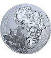 Срібна монета 1oz Китоголов 50 франків 2019 Руанда
