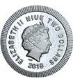 Серебряная монета 1oz Пароходик Вилли Дисней 2 доллара 2017 Ниуэ