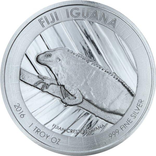 Серебряная монета 1oz Черепаха Таку 2 доллара 2011 Фиджи