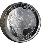 Срібна монета 30g Китайська Панда 10 юань 2013 Китай