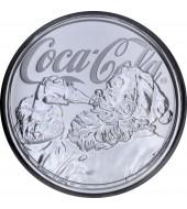 Серебряная монета 2oz Рамзес II Загробная Жизнь 1000 франков КФА 2017 Чад