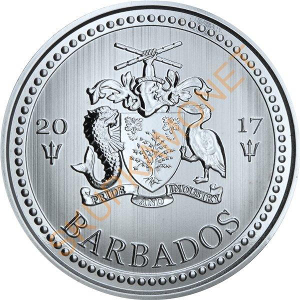 Серебряная монета 1oz Краснохвостый Ястреб Хищные Птицы 5 долларов 2015 Канада