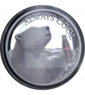 Серебряная монета 2oz Гор  1000 франков КФА 2016 Чад
