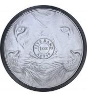 Серебряная монета 1oz Африканский Леопард 5 седи 2018 Гана