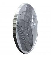 Серебряная монета 1oz Антигуа и Барбуда 2 доллара 2018 Антигуа и Барбуда