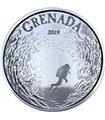 Серебряная монета 1oz Гренада 2 доллара 2019 Восточные Карибы