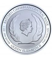 Срібна монета 1oz Гренада 2 долара 2019 Східні Кариби