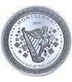 Серебряная монета 1oz Монтсеррат 2 доллара 2019 Восточные Карибы