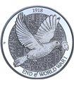 Срібна монета 2oz 100 років Закінчення Першої Світової Війни 2 долара 2018 Австралія