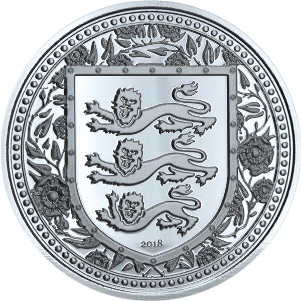 Серебряная монета 1oz Волк Дикая Природа 5 долларов 2011 Канада