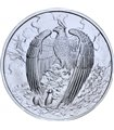 Серебряная монета 1oz Chiwoo Cheonwang 1 clay 2017 Корея