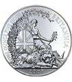 Серебряная монета 1oz Британия 2 фунта стерлингов Великобритания 2007