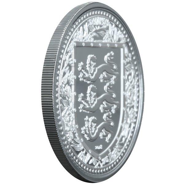 Серебряная монета 1oz Медведь Гризли Дикая Природа 5 долларов 2011 Канада