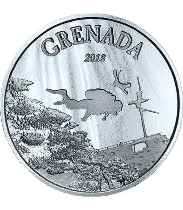 Срібна монета 1oz Ведмідь Грізлі Дика Природа 5 доларів 2011 Канада