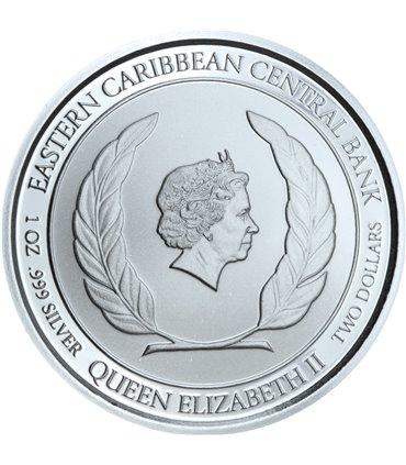 Срібна монета 1oz Рись Хижак Канади 5 доларів 2017 Канада