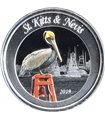 Серебряная монета 1oz Сент-Китс и Невис 2 доллара 2019 Восточные Карибы