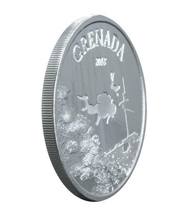 Серебряная монета 1oz Рысь Хищник 5 долларов 2017 Канада