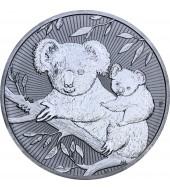 Срібна монета 2oz Коала 2 долара 2018 Австралія