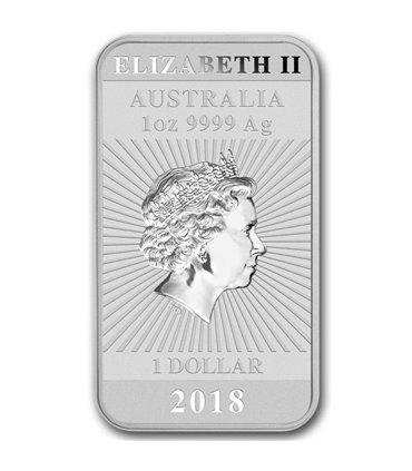 Серебряная монета 1oz Коала 1 доллар 2018 Австралия