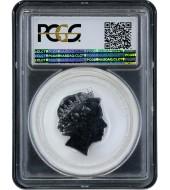 Серебряная монета 1oz Год Петуха 1 доллар 2017 Австралия