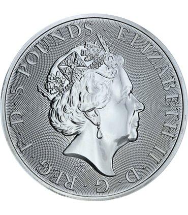 Срібна монета 1oz Рік Свині 1 долар 2019 Австралія