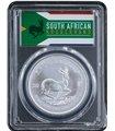 Серебряная монета 1oz Крюгерранд 1 ранд 2019 Южная Африка