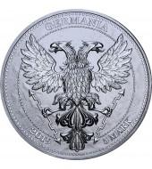 Золотая монета 1/4oz Белый Лев Мортимера 25 фунтов стерлингов 2020 Великобритания