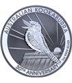 Серебряная монета 1oz Кукабарра Монете 30 лет 1 доллар 2020 Австралия
