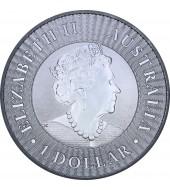 Золотая монета 1/10oz Норвежская Лесная Кошка 1 крона 1991 Остров Мэн