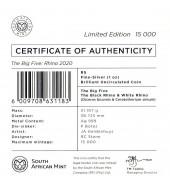 Серебряная монета 1oz Марлин 1 доллар 2017 Каймановы Острова