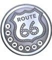 Срібний раунд 1oz Роут 66 США
