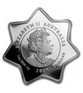 Серебряная монета 1oz Тяньцзиньский Дракон 1 доллар Китай 2018 рестрайк