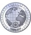 Серебряная монета 1oz Терра 5 долларов 2020 Токелау