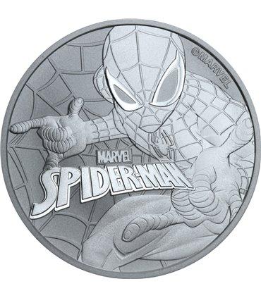 Срібна монета 1oz Рік собаки 1 долар 2018 Австралія