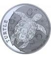 Срібна монета 1oz Черепаха 2 долара 2017 Ніуе