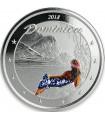 Серебряная монета 1oz Доминика 2 доллара 2018 Восточные Карибы (цветная)