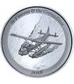 Серебряная монета 1oz Сент-Винсент и Гренадины 2 доллара 2018 Восточные Карибы