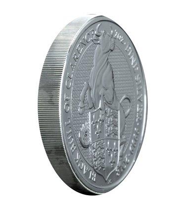 Серебряная монета 1oz Прямоугольный Дракон 1 доллар 2018 Австралия