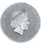 Срібна монета 1oz Морська Зірка 1 долар 2019 Острови Кука