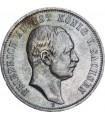 Серебряная монета 3 марки 1910 Саксония Германская Империя